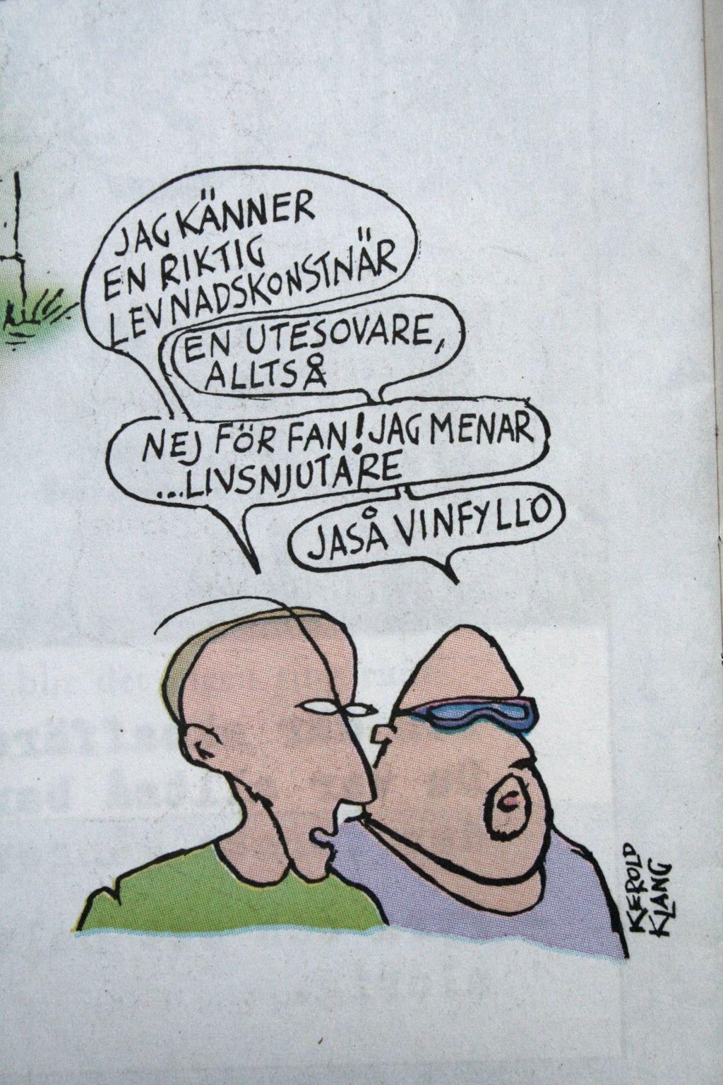 humor stockholm